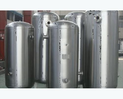 天津不锈钢立式亚光储气罐